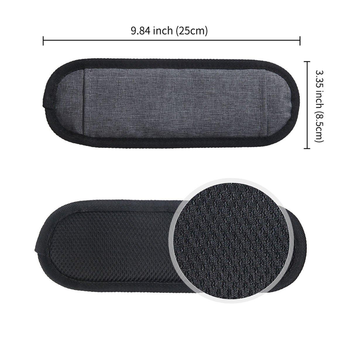 Negro con con Ganchos giratorios de Metal y Almohadilla Antideslizante JAKAGO Correa de Hombro de Repuesto Universal Ajustable Cintur/ón de Hombro para la Bolsa de Equipaje