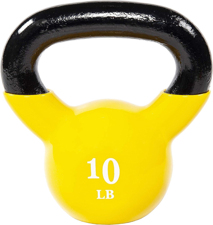 Kettlebell Set for Home Gyms Core Miroddi Kettlebell Weights Solid Iron Kettlebells Vinyl Coated Exercise Kettlebell Set for Women Kettle Bal Training Equipment Workout Free Weights for Ballistic