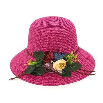 Yaojiaju Sombreros de Paja de Verano ae6cb562603