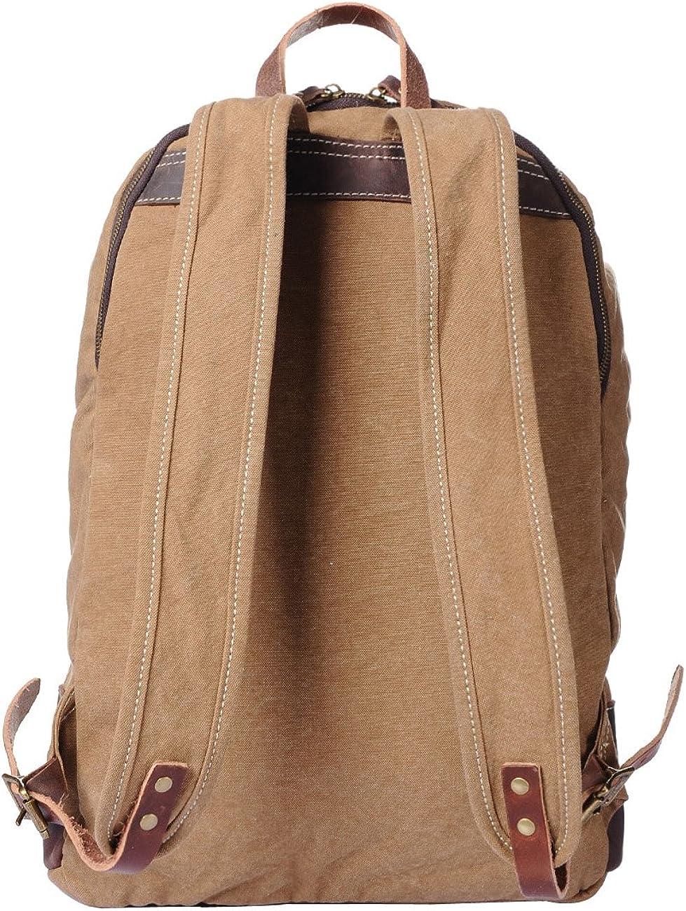 Fashion Shop CasualCanvas Backpack Rucksack Bookbag Satchel Hiking Bag