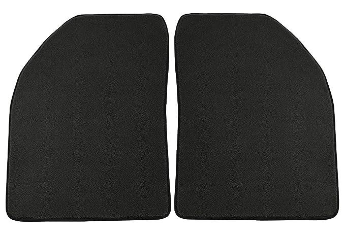 Nylon Carpet Coverking Custom Fit Front Floor Mats for Select Buick Estate Models Black
