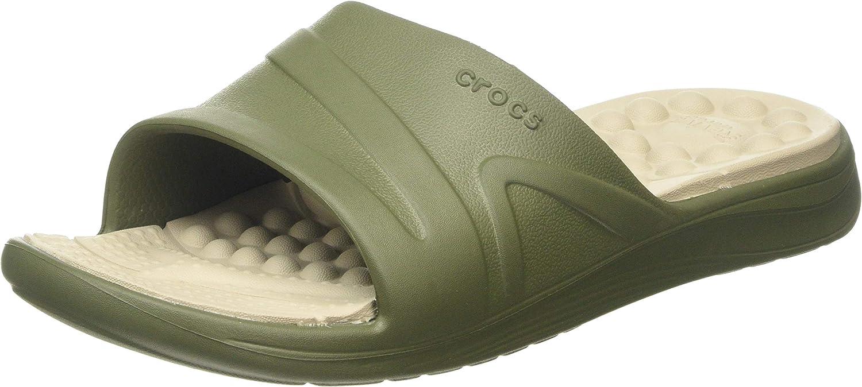 Adulto Sandali a Punta Aperta Unisex Crocs Reviva Slide