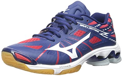 b3b01f24e87a1 Mizuno Women's Wave Lightning Z WOMS NY-RD Volleyball Shoe