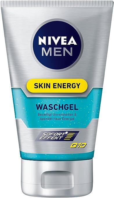 Nivea men - Q10, gel energizante facial, pack (2 x 100 ml): Amazon.es: Belleza