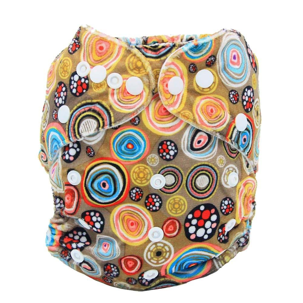 amazingdeal Newborn Diapers, Baby Nappy Breathable Soft Washable Waterproof Cloth Diapers