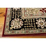 Nourison Persian Crown (PC004) Black Rectangle Area