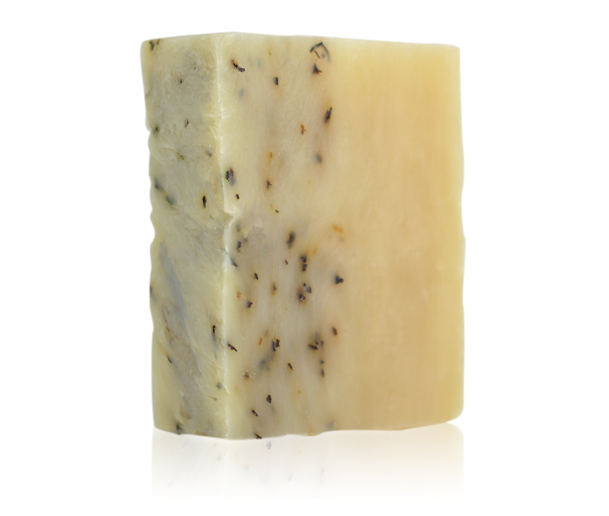 Brickell Men's Mint Soap Scrub Bar for Men– 4 oz – Natural & Organic