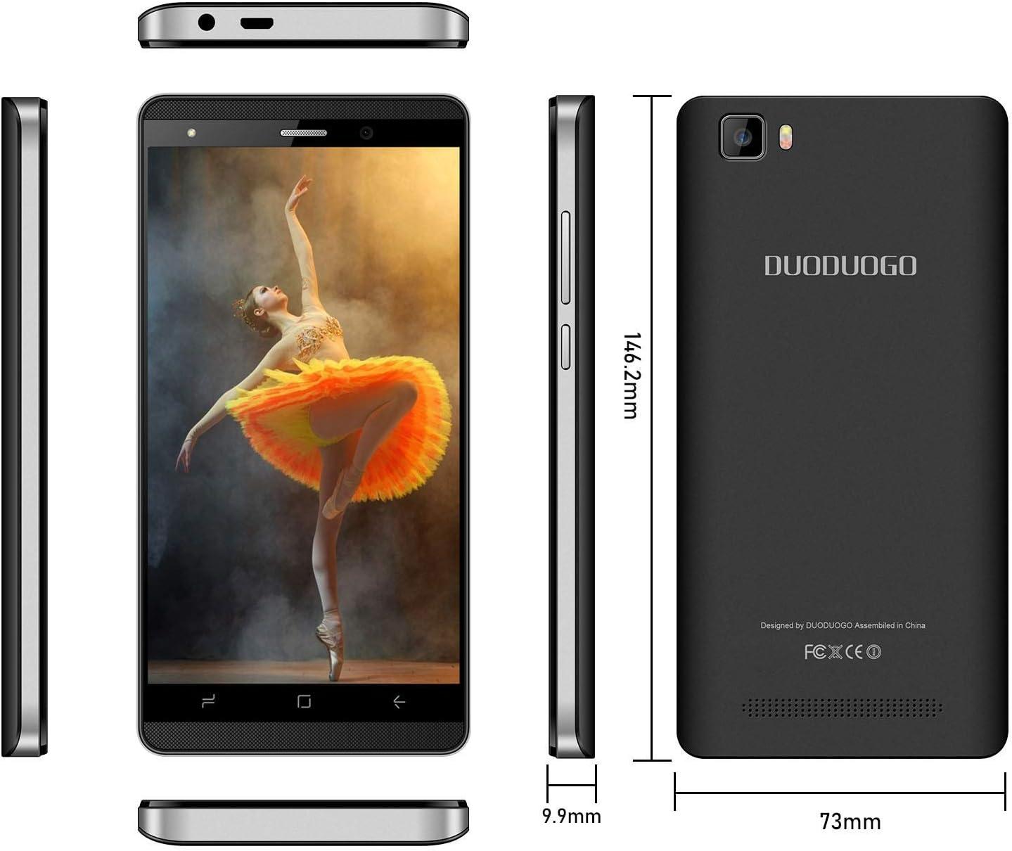 Moviles Libres 4G,5.1 Pulgadas 16GB ROM,2800mAh Batería,Dual ...