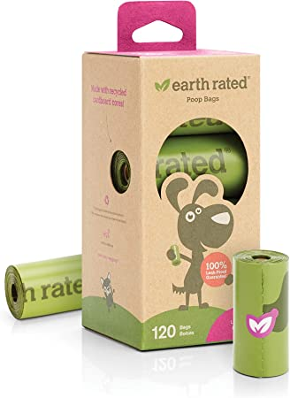 Earth Rated - Pack de bolsas para recoger excrementos de perro ...