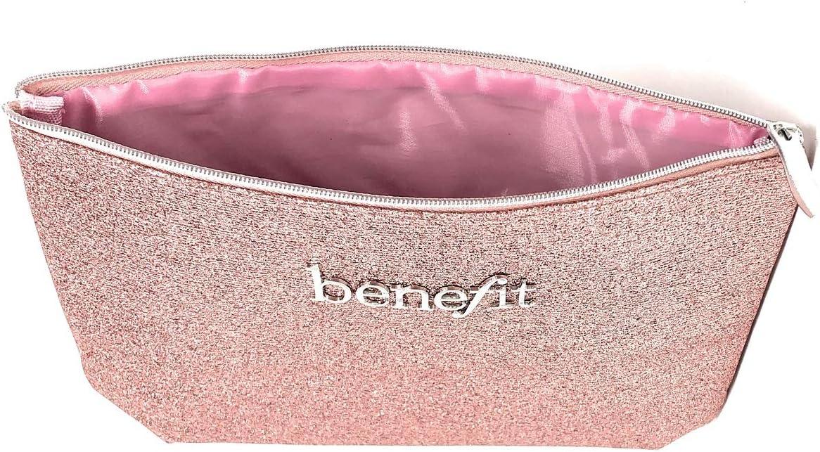 Benefit - Neceser de maquillaje, color rosa: Amazon.es: Belleza