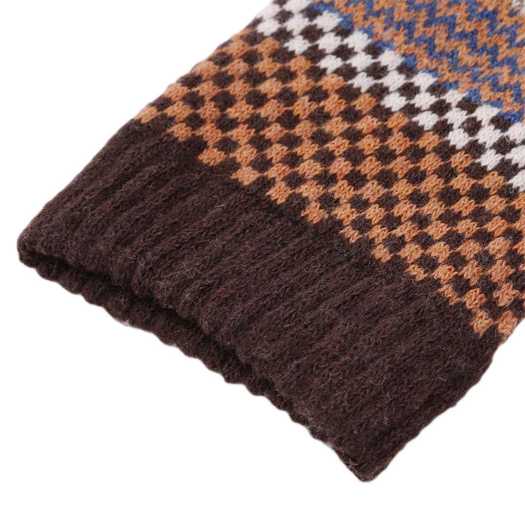 KISSFRIDAY M/änner Winter Gestreifte Warme Dicke Pl/üsch Vintage Retro Casual G/ünstige Socken