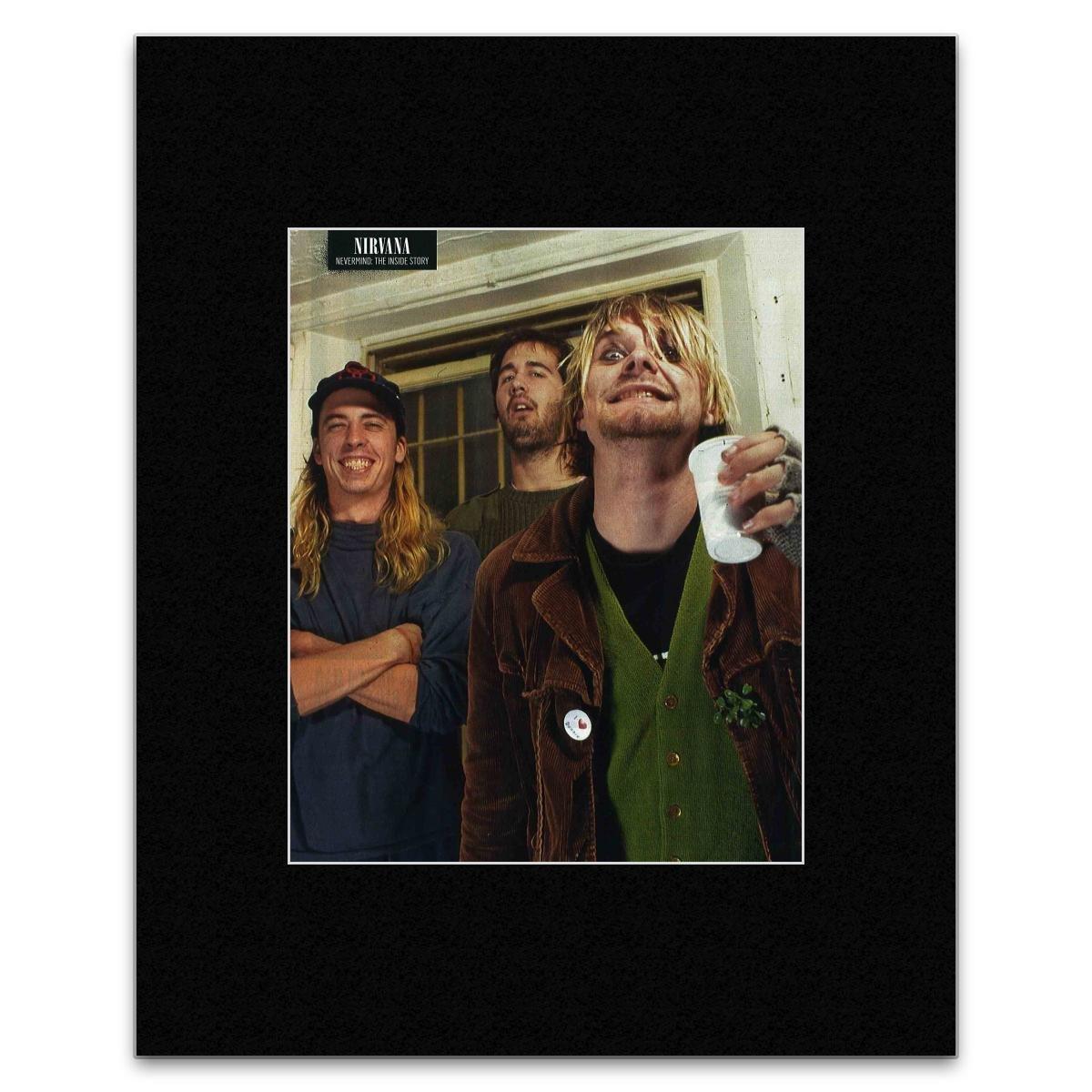 Amazon.de: NIRVANA-Dave Grohl Krist Novoselic und Kurt Cobain Poster ...