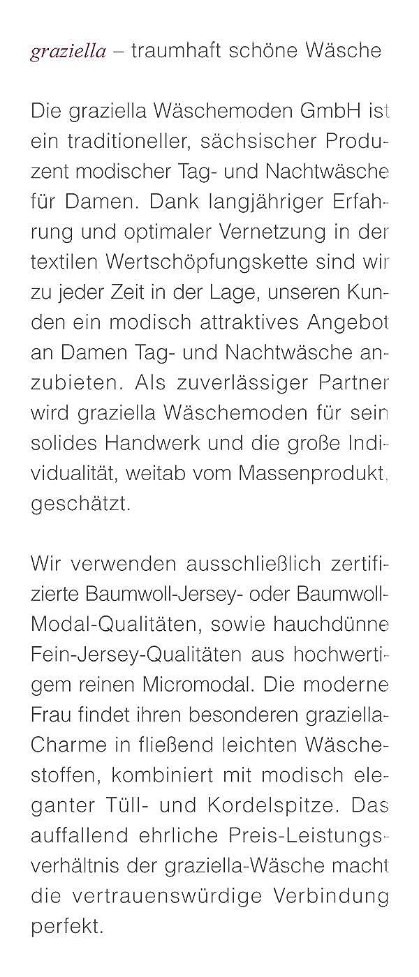 2b764ac63e Graziella Luxus Nachtwäsche-Set Astrid Nachthemd + Morgenmantel aus  Micromodal 9 Gr. 36/38-52/54: Amazon.de: Bekleidung