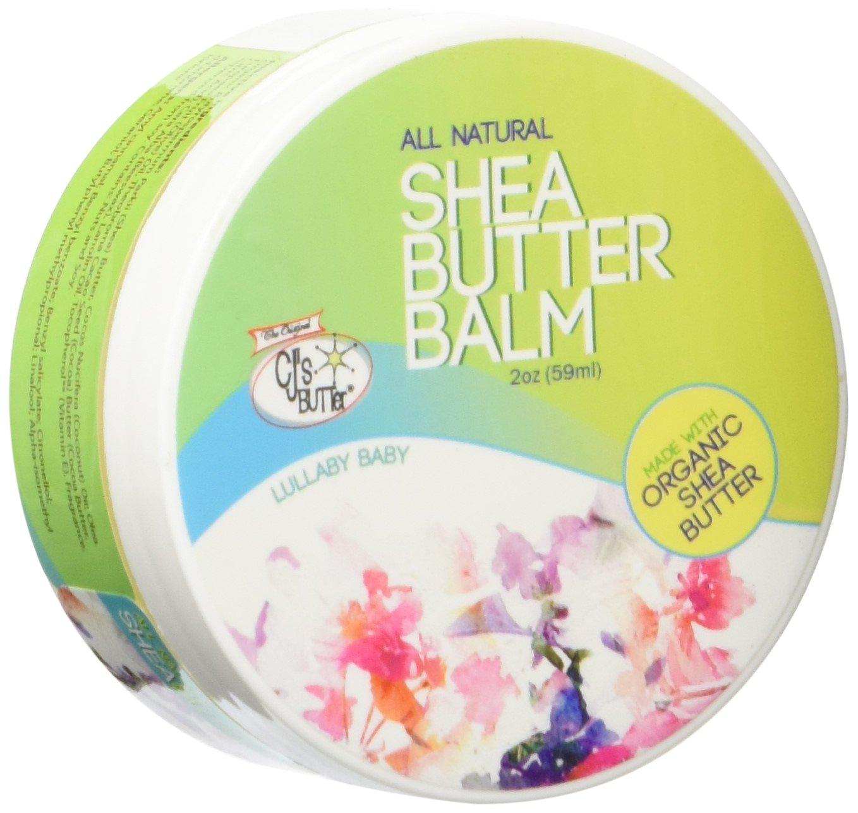 The Original CJ's BUTTer® All Natural Shea Butter Balm - Lullaby Baby, 2 oz. Jar