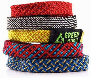 Green Guru Gear Gurú de Verde Pulsera de Cuerda de Escalada, tamaño Grande
