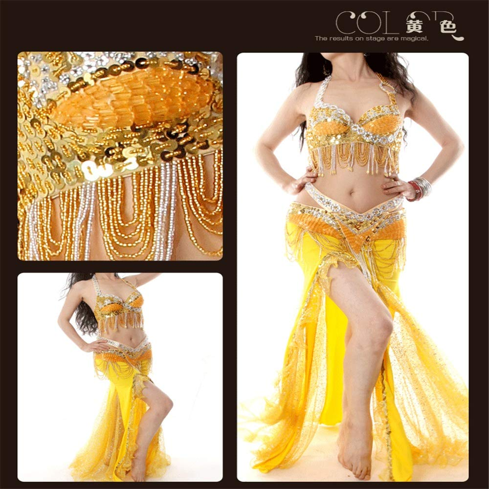 b1cec70e40e8 Bangxiu-Belly Dance Disfraz de Danza del Vientre Vestido de Danza ...