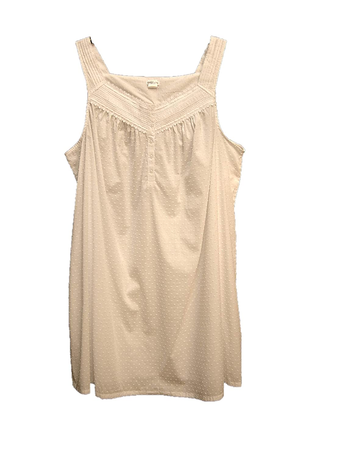 Women/'s Croft /& Barrow Woven Nightgown    3X