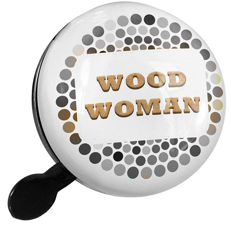 Amazon.com : NEONBLOND Bike Bell Wood Woman Light Wood Block ...