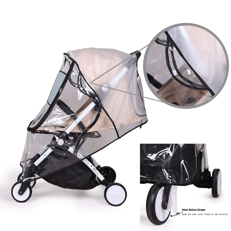 Baby Travel Weather Shield YKYK Universal Rain Cover for Pushchair Stroller Buggy Pram