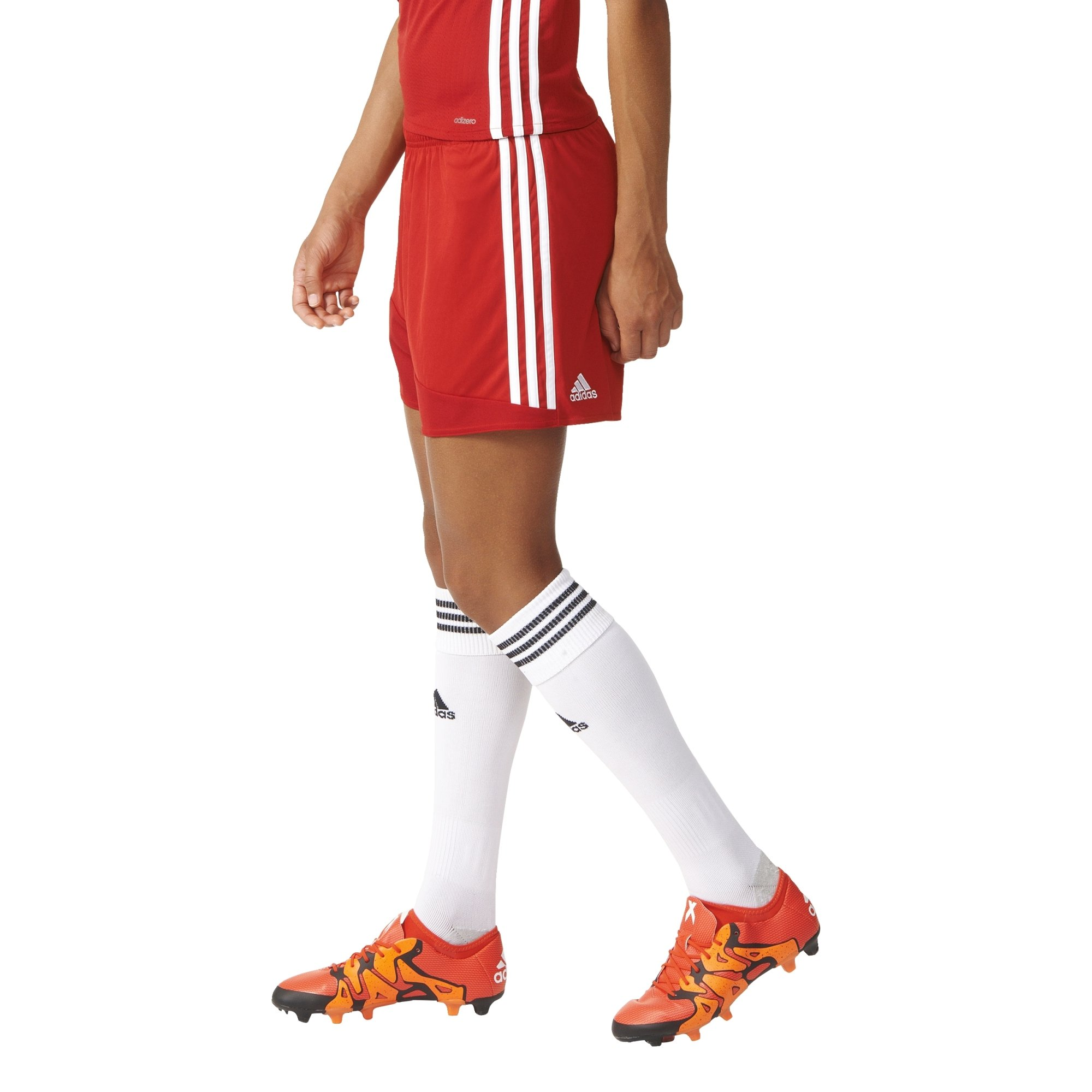 adidas Regista 16 Womens Soccer Short S Power Red/White by adidas