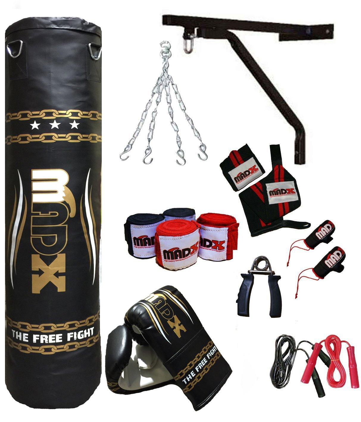 saco de boxeo y complementos