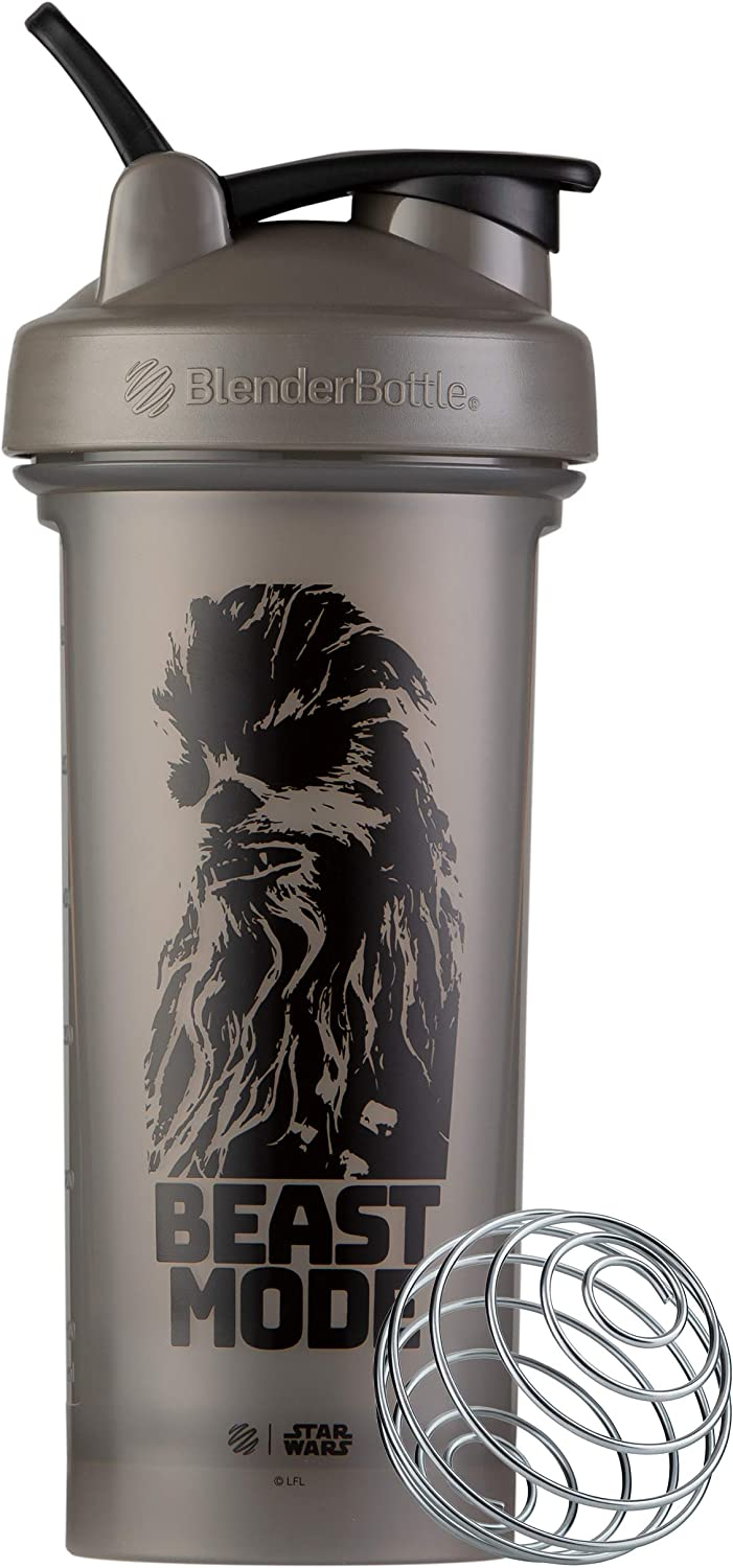 BlenderBottle Star Wars Classic V2 Shaker Bottle Perfect for Protein Shakes and Pre Workout, 28-Ounce, Beast Mode