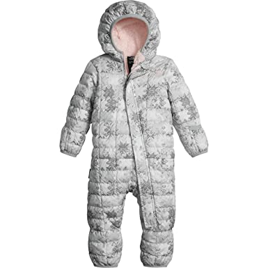 28f5e3eba The North Face Infant Thermoball Bunting Tnf White Snow flake Fair ...