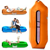 IceFox Inflatable Couch, Pool Floats, Inflatable Lounger& Anti-Air Leaking Design-Ideal Air Sofa, Cool Inflatable Beach…