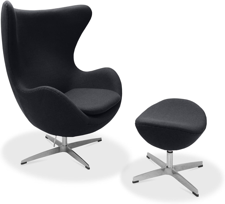 Egg Chair Arne Jacobsen Kopie.Amazon Com Lexington Modern Arne Jacobsen Egg Chair Kitchen Dining