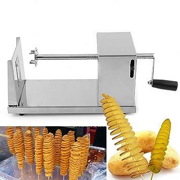 Niceeshoptm Stainless Steel Potato Spiral Slicer Cutter