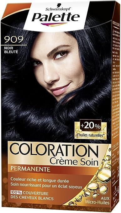 Schwarzkopf Palette Coloration Permanente Cheveux Noir