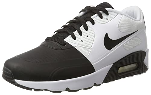 Nike Men s AIR MAX 90 Ultra 2.0 SE Black-White Running Shoes-10 UK ... 9cca51e14