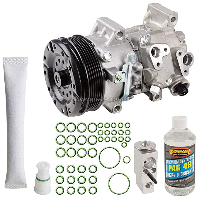 Amazon.com: AC Compressor w/A/C Repair Kit For Scion xD 2011 2012 2013 2014 - BuyAutoParts 60-80495RK NEW: Automotive