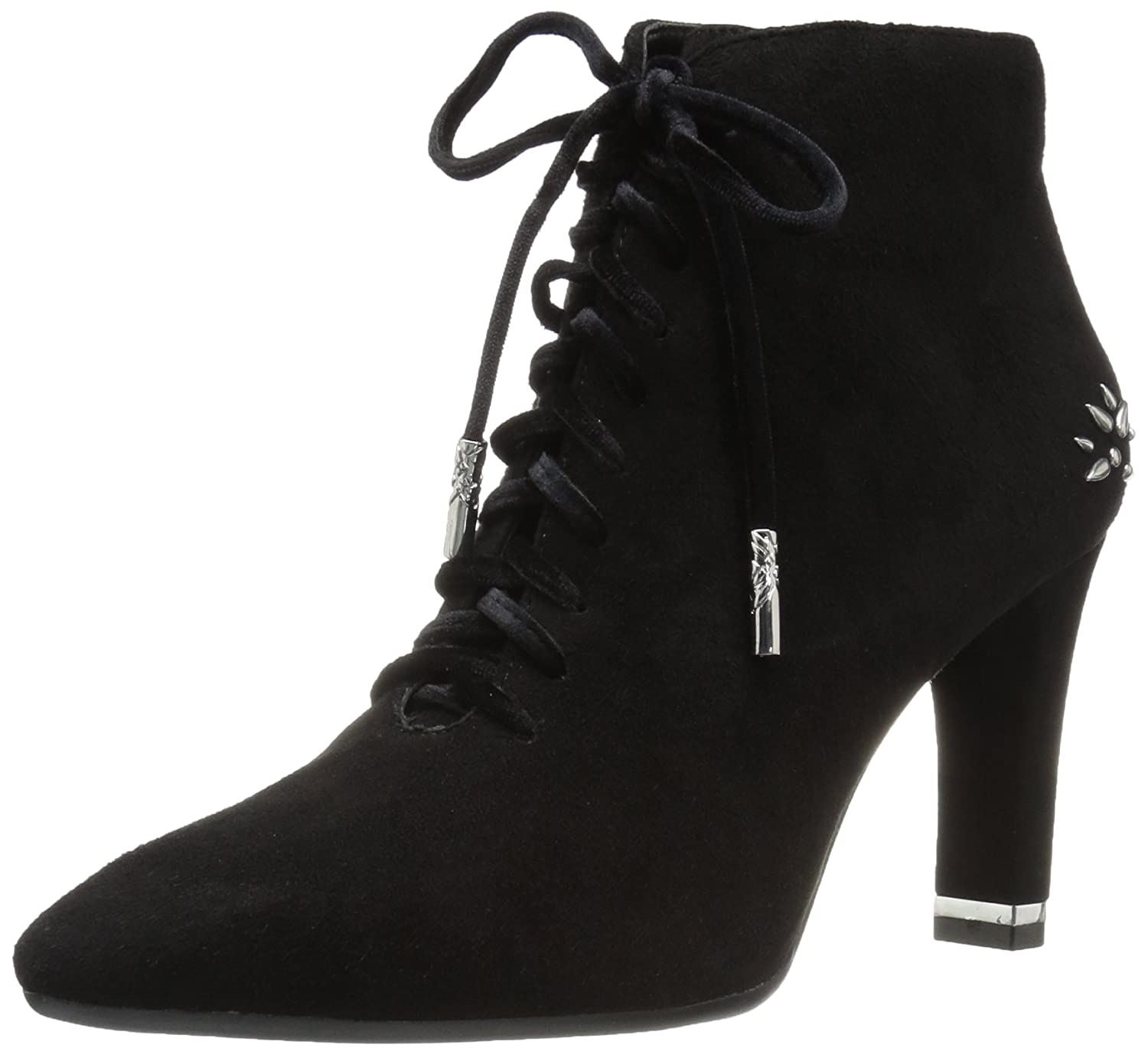 Aerosoles Women's Tax Bracket Ankle Boot B074GZCJD8 10.5 B(M) US|Black Suede