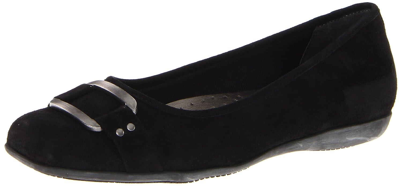 Trotters Women's Sizzle Signature Ballet Flat B0073E5VSC 6 N US|Black Suede