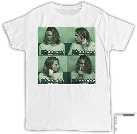 Uk print king Kurt Cobain MugShotDivertida 96b2a25cf591f