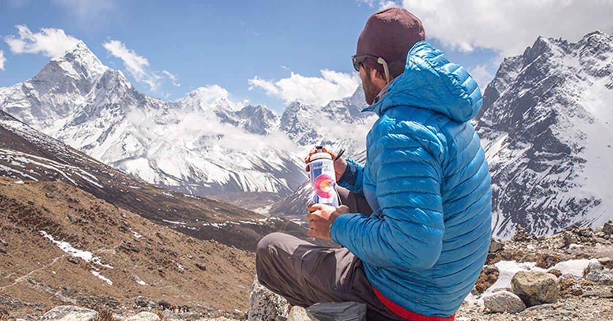 Amazon.com: Polar - Botella de agua aislada: Sports & Outdoors