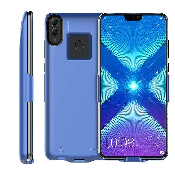 Amazon.com: Huawei Honor 8X 6500mAh Battery Charger Case ...