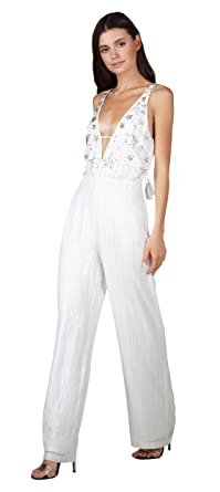 2d324902da7a Image Unavailable. Image not available for. Color  Adelyn Rae Jada  Star-Sequins Jumpsuit