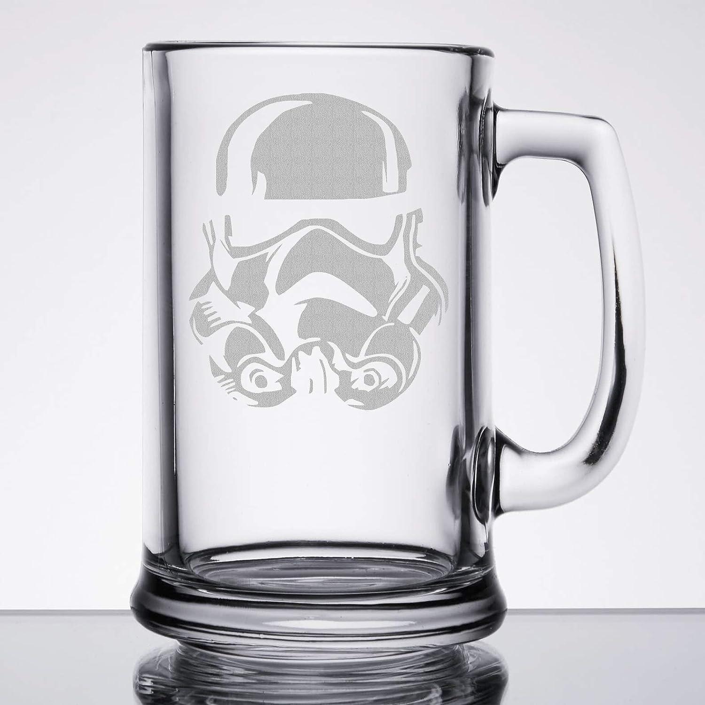 Star Wars - Storm Trooper - Etched Beer Mug