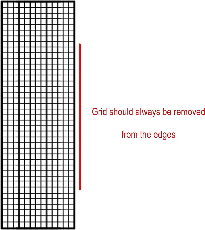 x2 Each Grid Size: 2 h w fits Fotodiox Pro 24x80 Softbox 50 Degree Grid 24x80 Eggcrate Grid x1.5 Fotodiox Pro l
