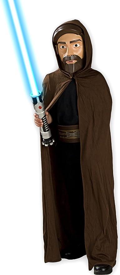 Rubies - Disfraz de Obi wan Kenobi con careta y espada láser para niño