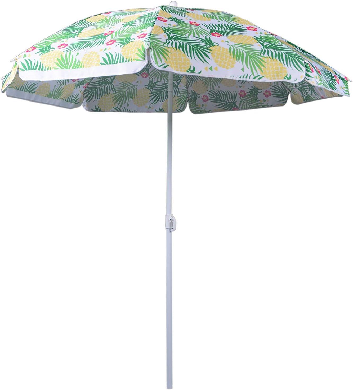 Ombrellone Tropical 140 cm Multicolore WDK Partner