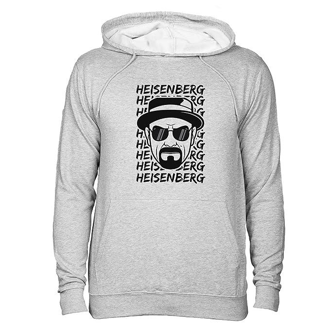 Breaking Bad Heisenberg Stamp Unisex Sudadera con capucha Gris XXL: Amazon.es: Ropa y accesorios