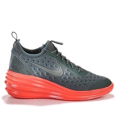 newest 86ffe c355b Amazon.com   Nike Women s Lunarelite Sky HI Shoes. Size 11. DARK MICA  GREEN ORANGE   Shoes