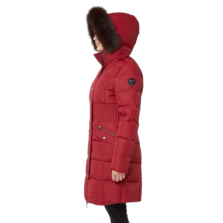 937a5057c46 Amazon.com: Pajar Women's Down Coat Parka Annie (Red): Clothing