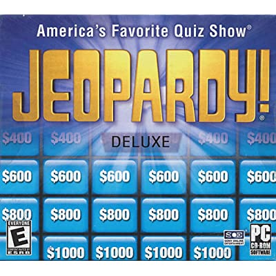 Jeopardy! Deluxe - America s Favorite Quiz Show: Toys & Games