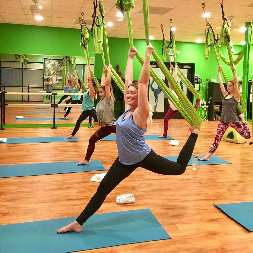 NFNFUNNM Yoga Hamaca Estiramiento Aéreo Yoga Yoga Columpio ...