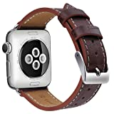 Amazon Price History for:Apple Watch Band 42mm 38mm, OULUOQI Alligator Texture Leather Band with Stainless Metal Buckle for Apple Watch Series 2, Series 1, Sport & Edition