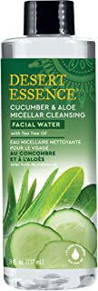 product image for Desert Essence Facial Water - Cucumber & Aloe Micellar w/Tea Tree Oil - 8 Fl Oz - Micellar Cleansing - Calms Irritated Skin - Revitalized & Refreshed